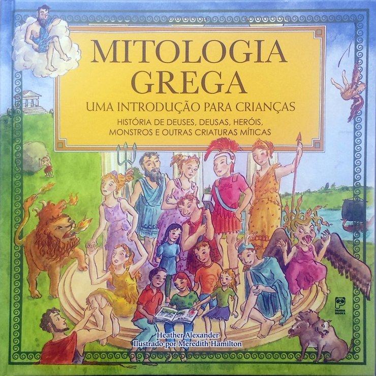 livro mitologia grega crianças